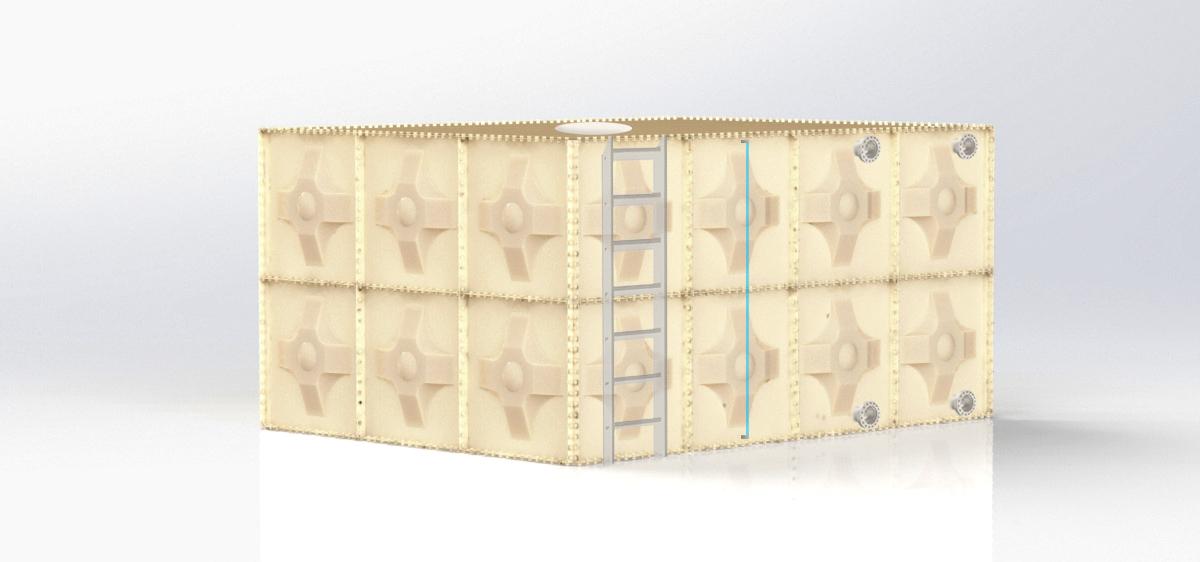 Modüler GRP Su Deposu Image